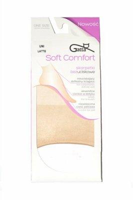 Gatta soft comfort bezuciskowe nero skarpetki