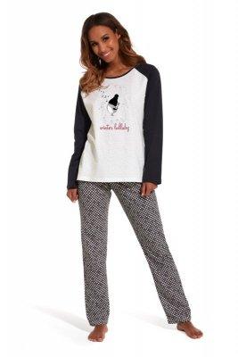 Cornette 145/136 Lullaby ecru piżama damska