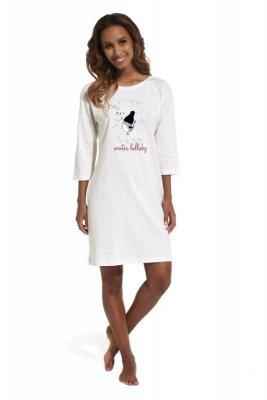 Cornette 641/155 Lullaby 3 ecru koszula nocna