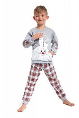 Cornette 589/62 Hop szary piżama chłopięca