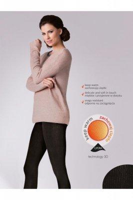 Gabriella 412 warm up fashion 200 den melange rajstopy