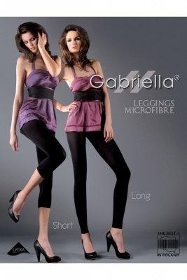 Gabriella 139 microfibra long ametyst legginsy