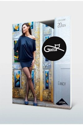 Gatta fancy 09 20 den nero rajstopy