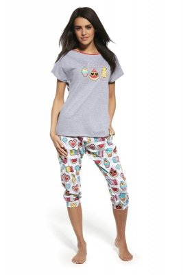 Cornette 063/129 Hello summer melanżowy piżama damska