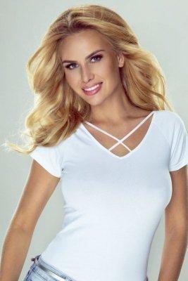 Eldar Rene biały bluzka damska