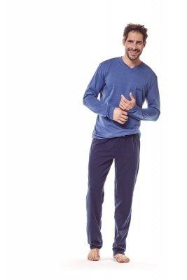Henderson 36215 59 granatowy piżama męska