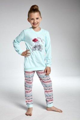 Cornette 594/95 hippo turkus piżama dziewczęca