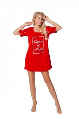 Aruelle Hearty Red damska koszula nocna