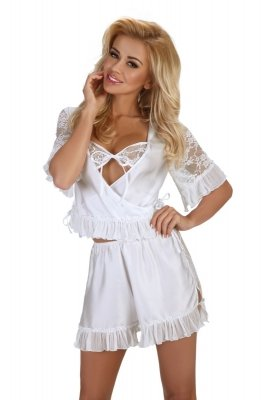 Beauty Night Raquel white Komplet
