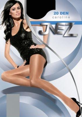 Inez Caroline Elastil 20 den 5-XXL rajstopy