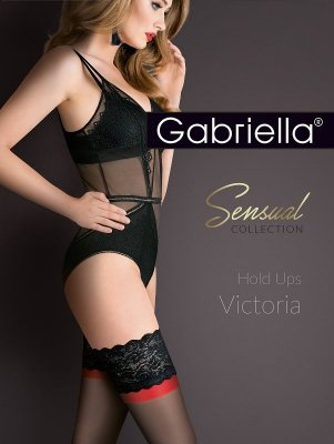 Gabriella Victoria Hold Ups 474 plus pończochy