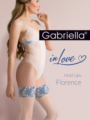 Gabriella 626 Hold Ups Florenc plus pończochy