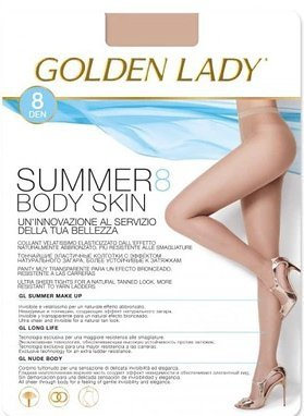 Golden Lady Summer Body Skin 8 den rajstopy