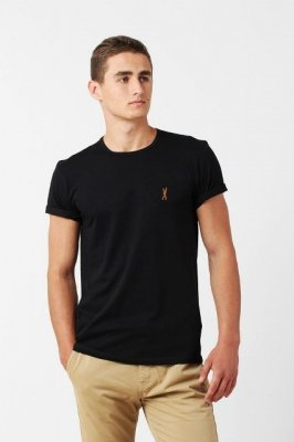 Orlovski R-neck Black koszulka męska