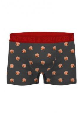 Crazy Boxer Organic Cotton Burger A'2 bokserki
