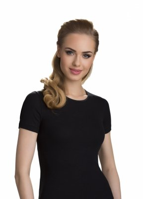 Eldar Natasza Czarna koszulka damska plus size