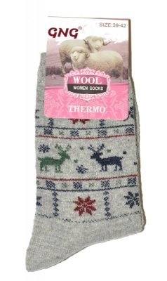 Ulpio GNG 3366 Thermo Wool skarpetki damskie