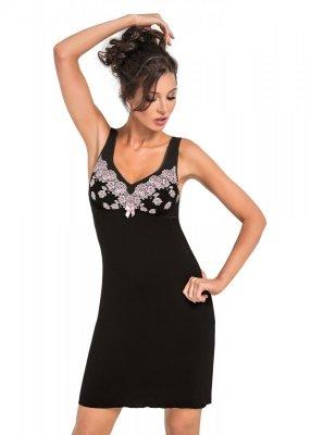 Donna Megan czarna Koszula nocna