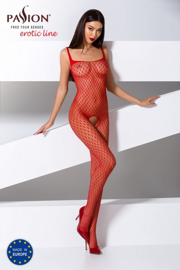 Passion BS071 red Bodystocking