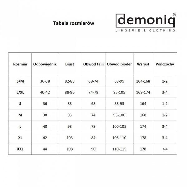 Demoniq Vera 2 Stringi 3 sztuki