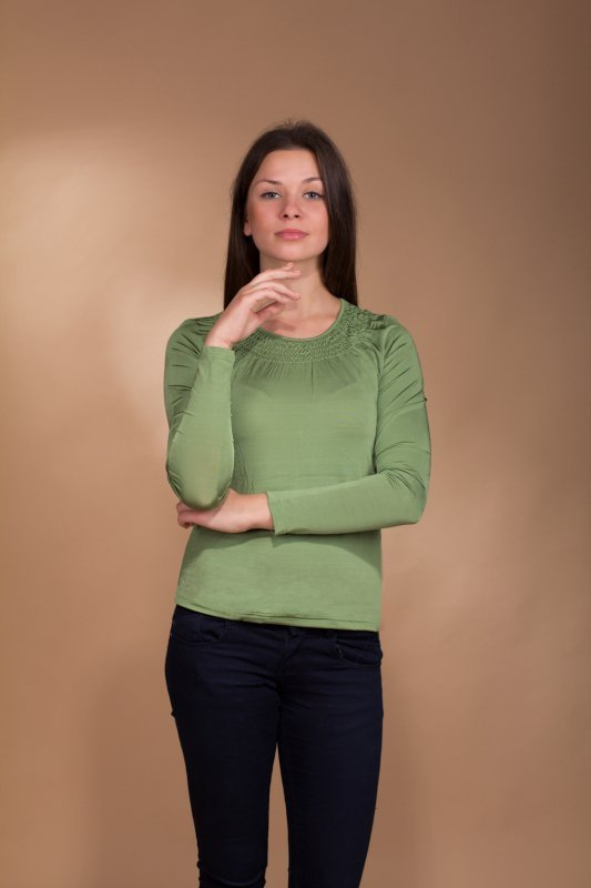 Lookat Rossa 3014 zielona bluzka damska