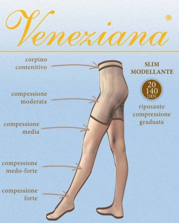 Veneziana Slim 20 rajstopy