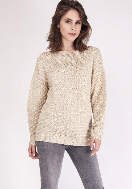 MKM Beatrix SWE 097 Beżowy sweter