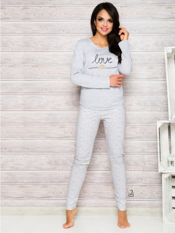 Taro Malina 1198 AW/17 K2 Szara piżama damska