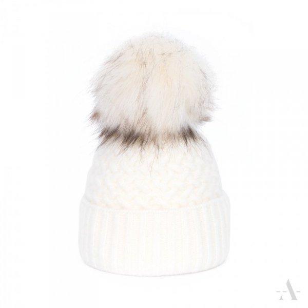 art of polo Chic Kremowa czapka