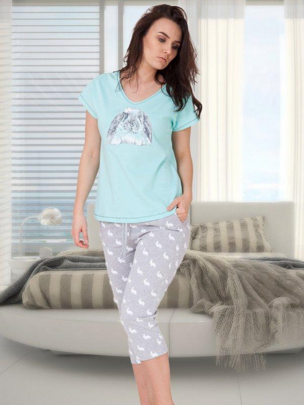 M-Max Benita 617 Miętowa piżama damska