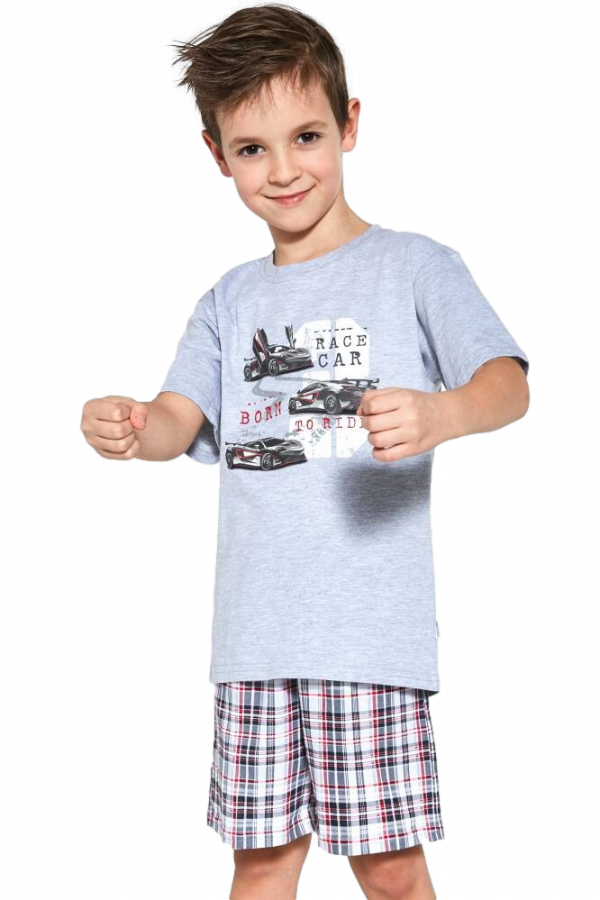 Cornette Kids Boy 789/97 Race Car 86-128 piżama chłopięca