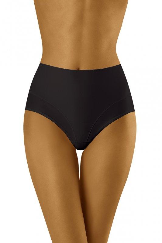 Wol-Bar Uniqa Czarne figi damskie modelujące