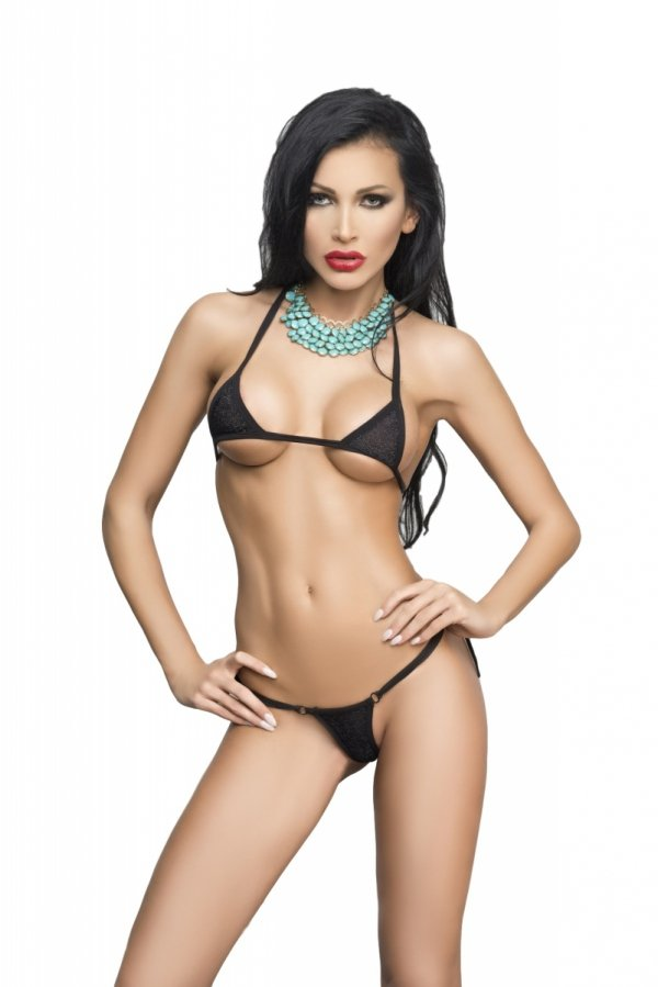Me Seduce Ipanema Black Mini bikini