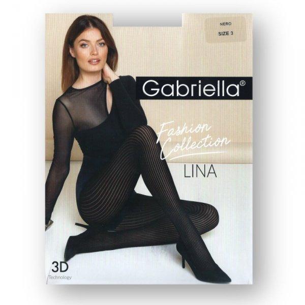 Gabriella 485 Lina nero rajstopy damskie