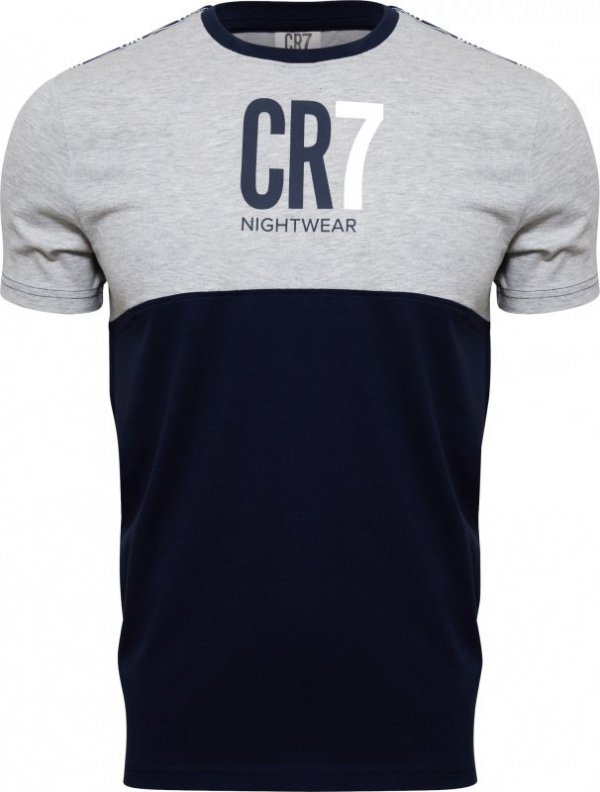 Cristiano Ronaldo  CR7 8770-49-749 szara piżama męska