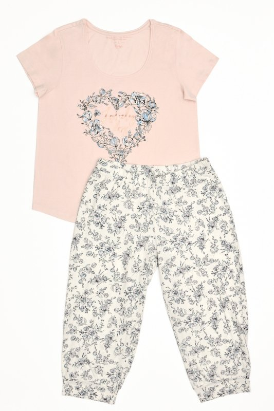 Henderson 38058 Floral piżama damska