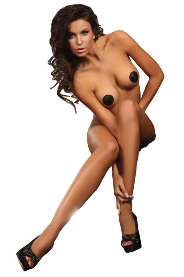 Livia Corsetti Circle Nipple Covers Model 4