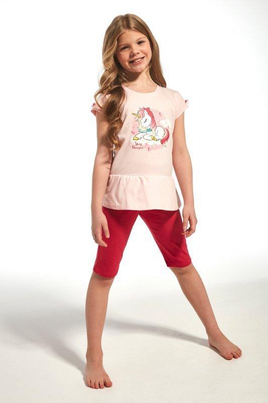 Cornette 241/60 kids unique różowy piżama dziewczęca