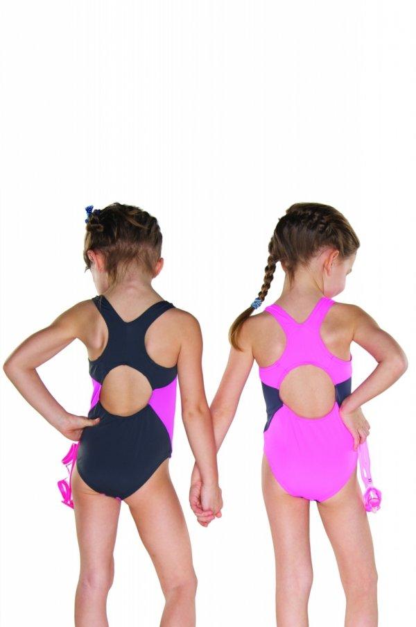 Shepa 009 Kostium kąpielowy dziewczęcy (B9D3)