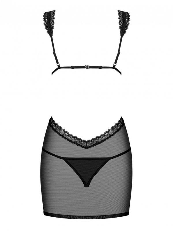Obsessive Swanita black Koszulka