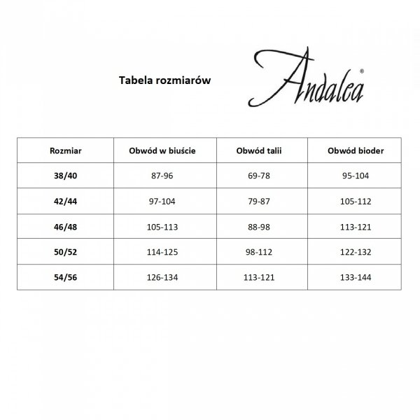 Andalea M/1052 Pas do pończoch