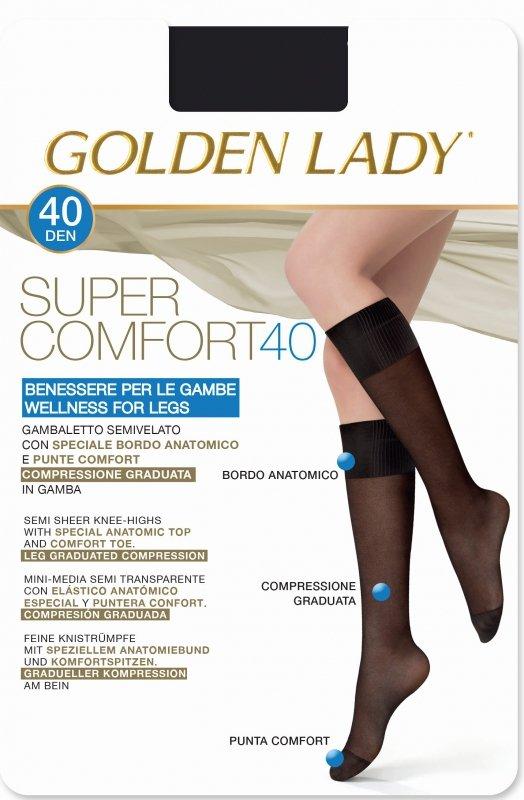 Golden Lady Super Comfort 40 den podkolanówki