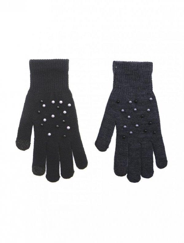 Rak R-166 Perełki  rękawiczki damskie