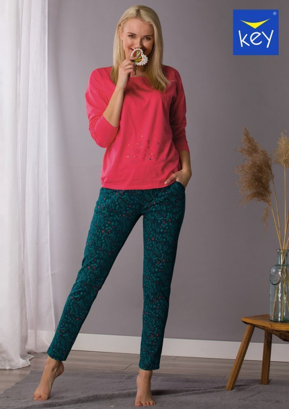 Key LNS 708 B21 piżama damska plus size