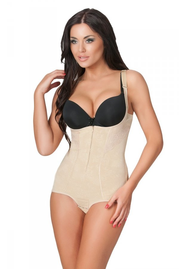Linea Fashion Extra Slim beige Body korygujące
