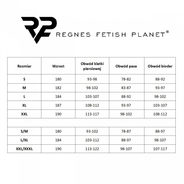Regnes Fetish Planet TSH014 Koszulka męska