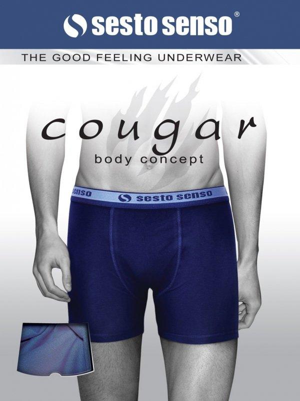 Sesto Senso Cougar jeansowy Bokserki męskie