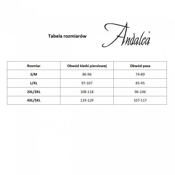 Andalea MC/9026 Speed black Stringi męskie