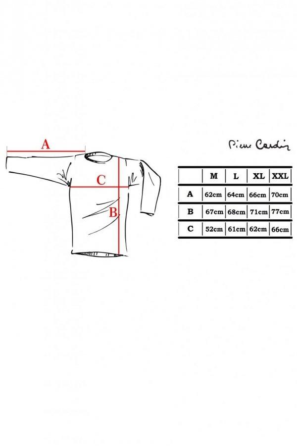 Pierre Cardin R-Logo szary Sweter