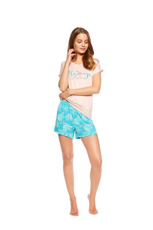2656f242f50953 Henderson Ladies Trophy 36789-03X Różowo-miętowa piżama damska ...